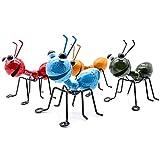YiYa Hormiga de Metal un Grupo de 4 Insectos Lindos Coloridos para Colgar Arte...