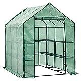 D4P Display4top Invernadero de jardín vivero casero Plantas Cultivos con 8...