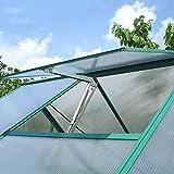 WIWIR Kit de apertura automática de ventilación de invernadero sensible al...