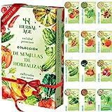 Mezcla De Semillas De 12 Vegetales, 5100 Semillas De Tomate, Pimiento Dulce,...