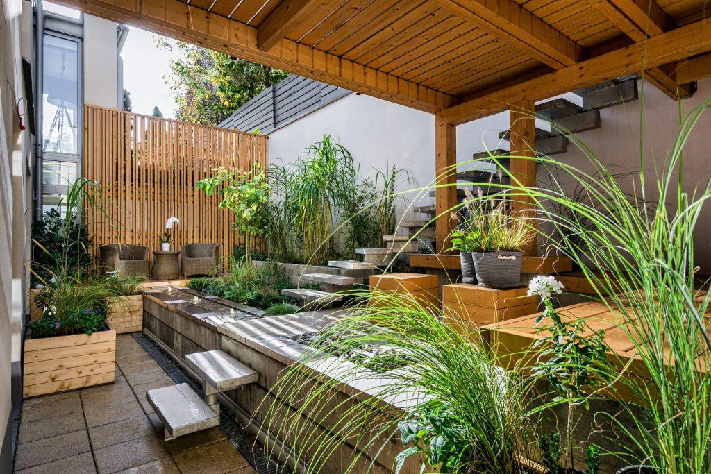 diseño de jardin pequeño