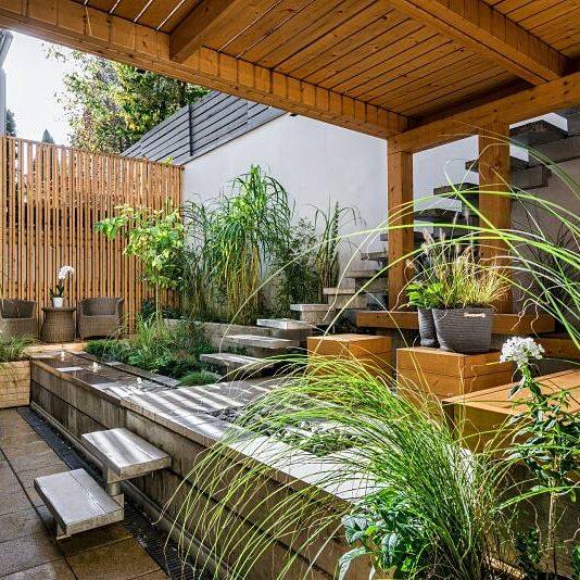 Diseño de jardin en Madrid